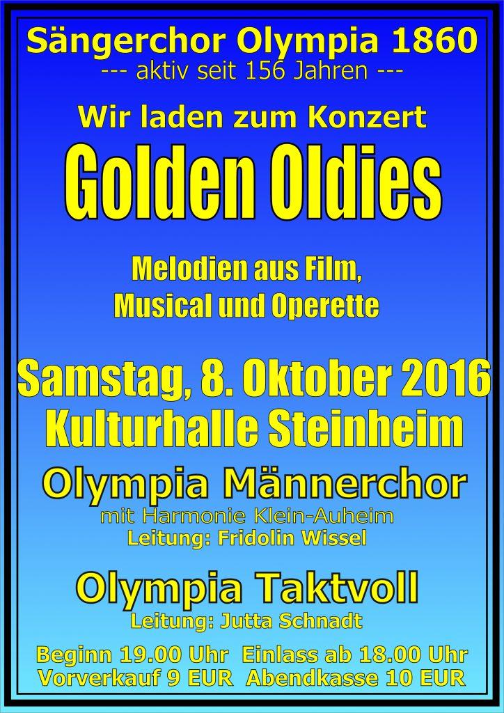 Plakat Olympia Konzert 2016